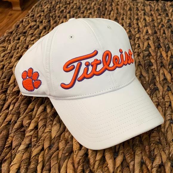 Clemson Titleist Golf Hat